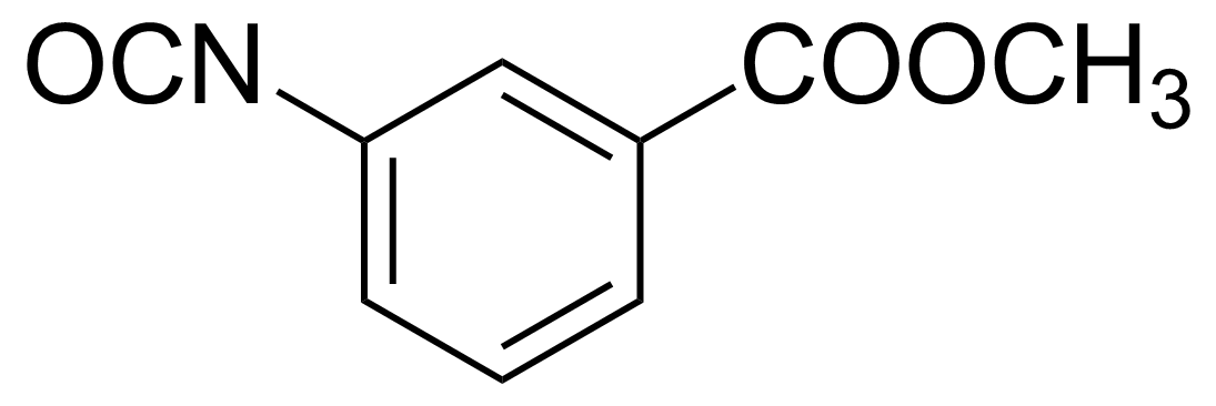 Structure of 3-Carbomethoxyphenyl isocyanate