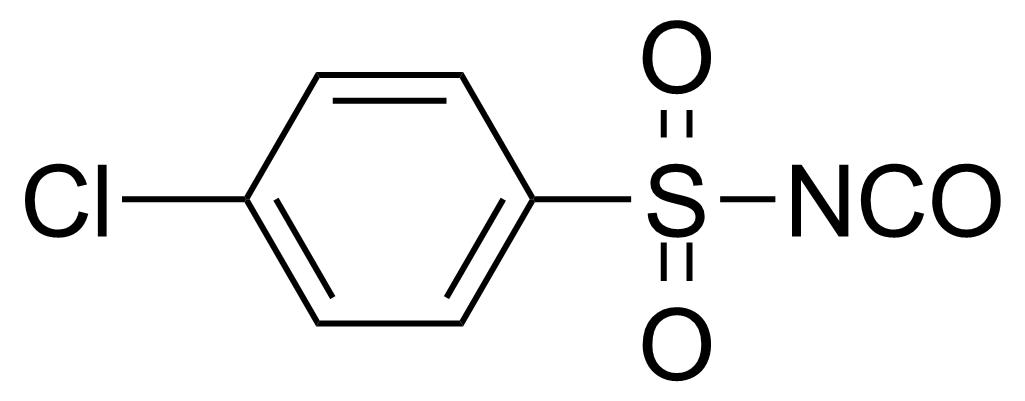 Structure of 4-Chlorobenzenesulfonyl isocyanate