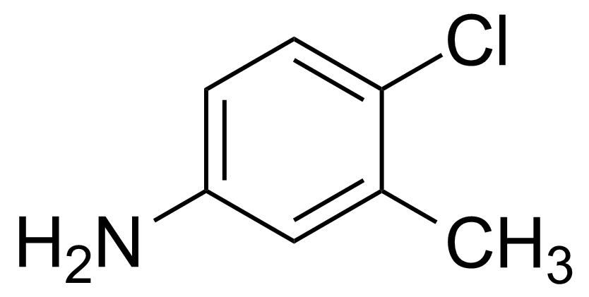 Structure of 4-Chloro-3-methylaniline