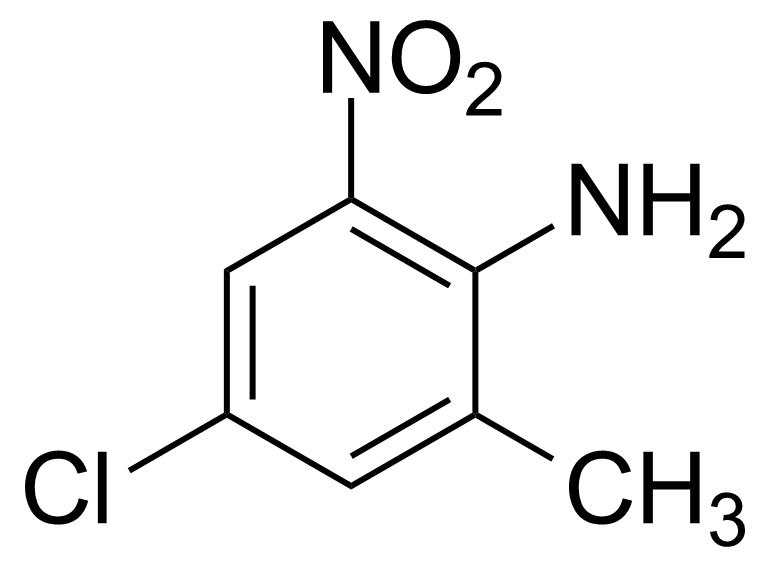 Structure of 4-Chloro-2-methyl-6-nitroaniline