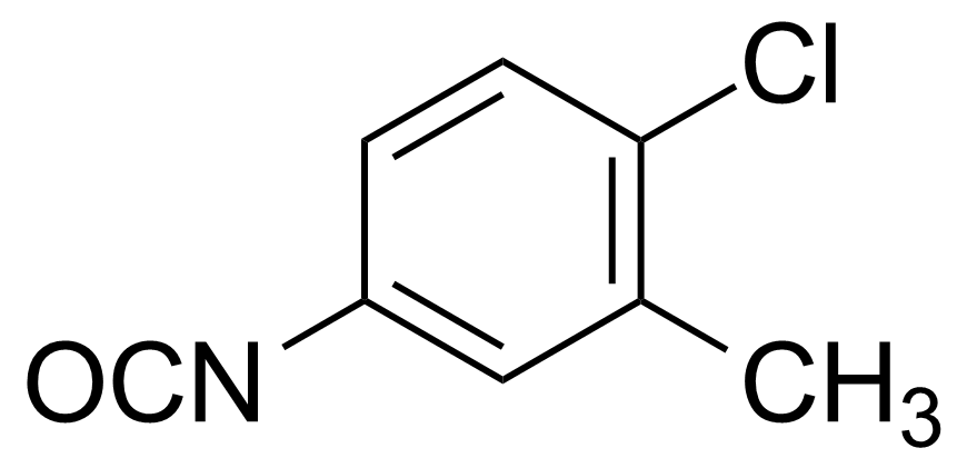Structure of 4-Chloro-3-methylphenyl isocyanate