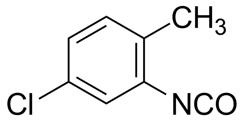 Structure of 5-Chloro-2-methylphenyl isocyanate