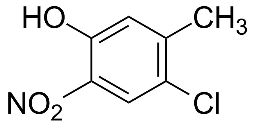 Structure of 4-Chloro-3-methyl-6-nitrophenol