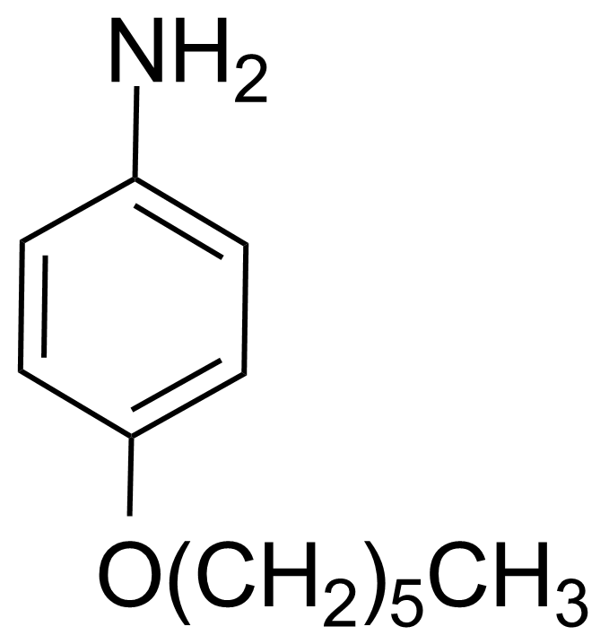 Structure of 4-Hexyloxyaniline