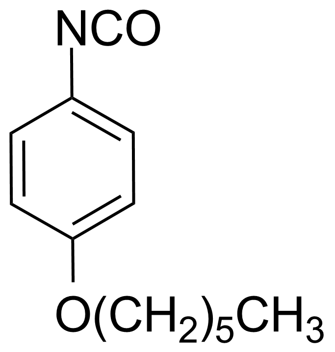 Structure of 4-(Hexyloxy)phenyl isocyanate