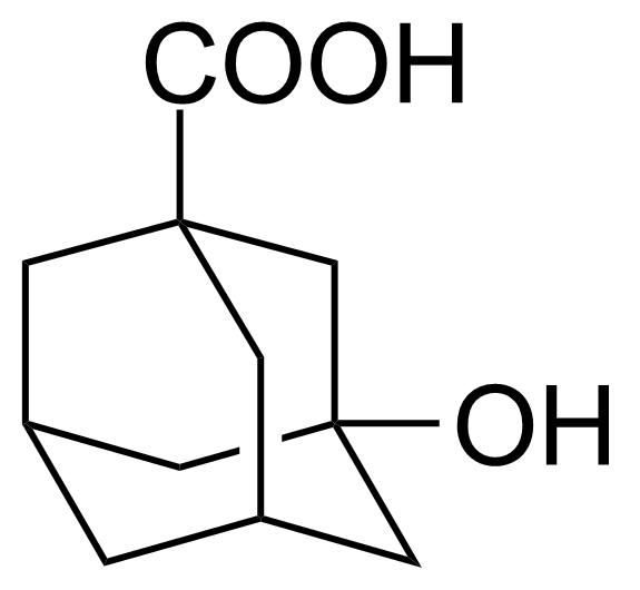 Structure of 3-Hydroxy-1-adamantanecarboxylic acid
