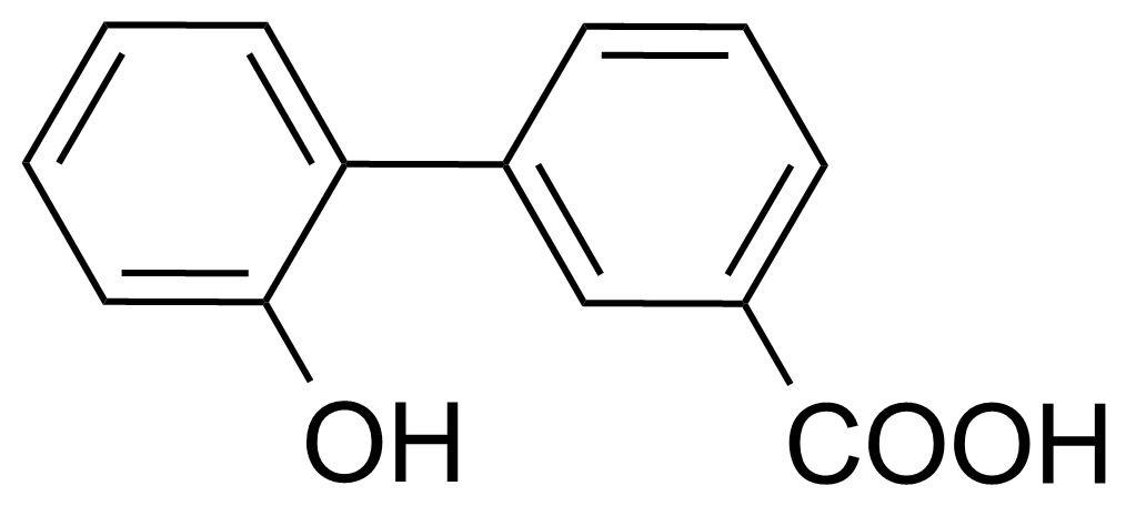Structure of 2'-Hydroxybiphenyl-3-carboxylic acid