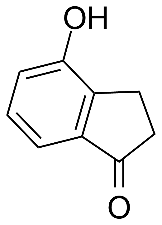 Structure of 4-Hydroxy-1-indanone