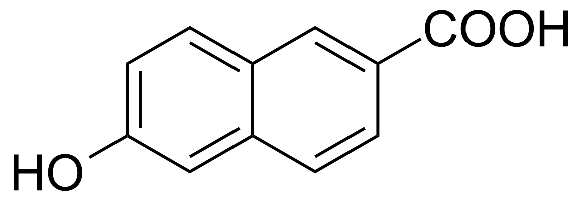 Structure of 6-Hydroxy-2-naphthoic acid
