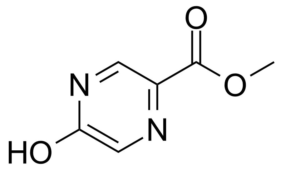 Structure of 5-Hydroxypyrazine-2-carboxylic acid methyl ester