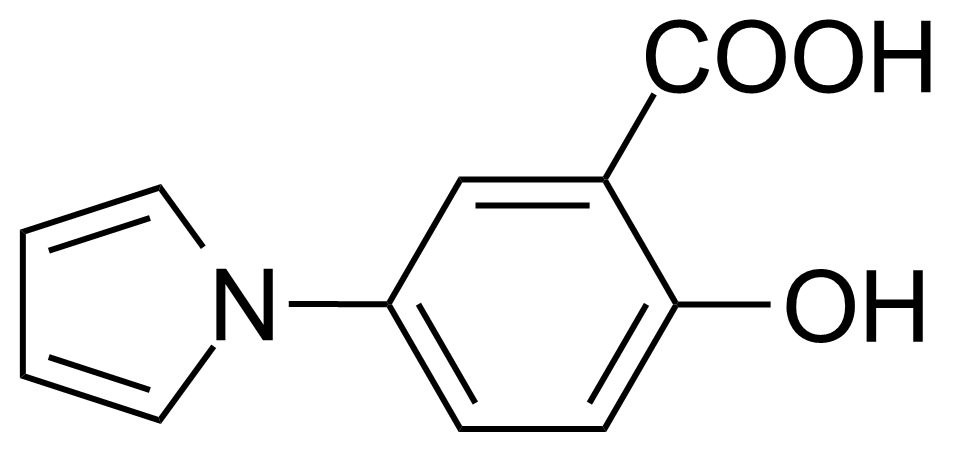 Structure of 2-Hydroxy-5-(1H-pyrrol-1-yl)-benzoic acid
