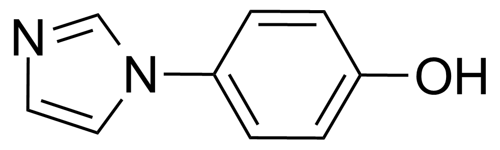 Structure of 4-(Imidazol-1-yl)phenol