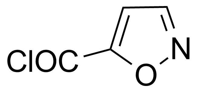 Structure of Isoxazole-5-carbonyl chloride