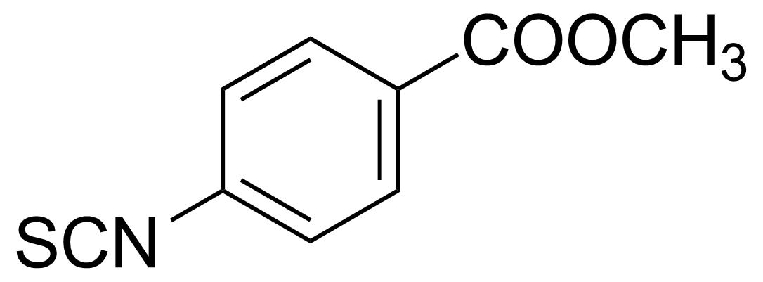 Structure of 4-Methoxycarbonylphenyl isothiocyanate