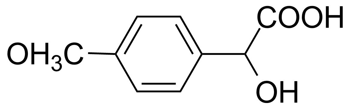 Structure of 4-Methoxymandelic acid