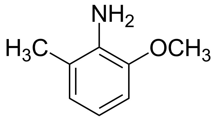 Structure of 2-Methoxy-6-methylaniline