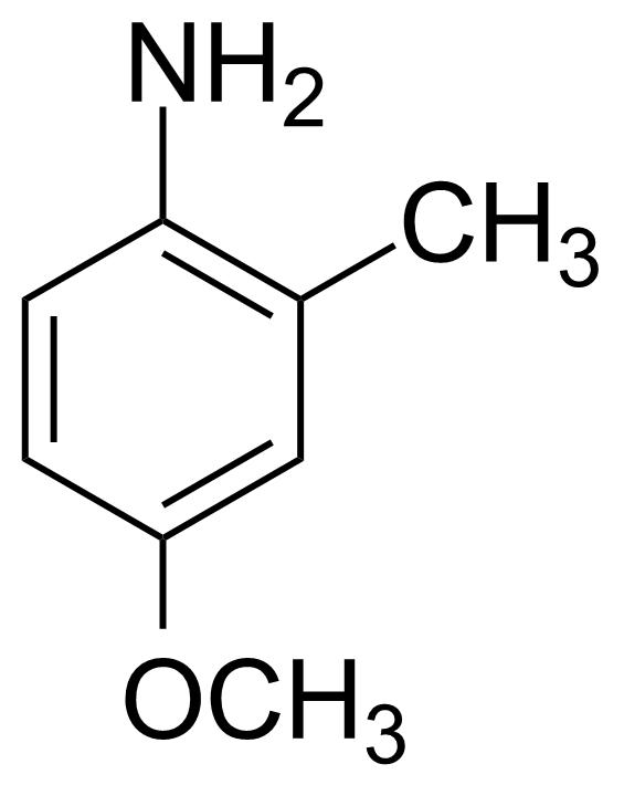 Structure of 4-Methoxy-2-methylaniline