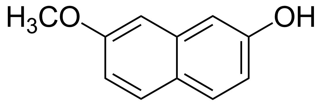 Structure of 7-Methoxy-2-naphthol