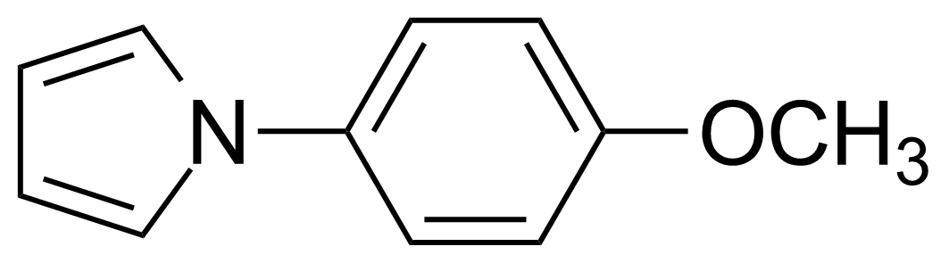 Structure of 1-(4-Methoxyphenyl)-1H-pyrrole