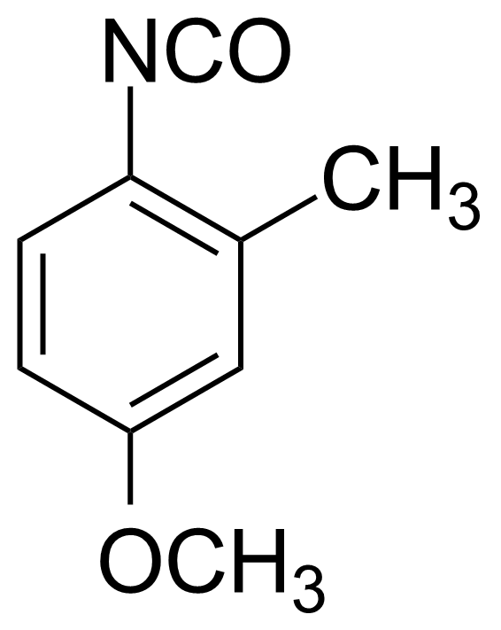 Structure of 4-Methoxy-2-methylphenyl isocyanate