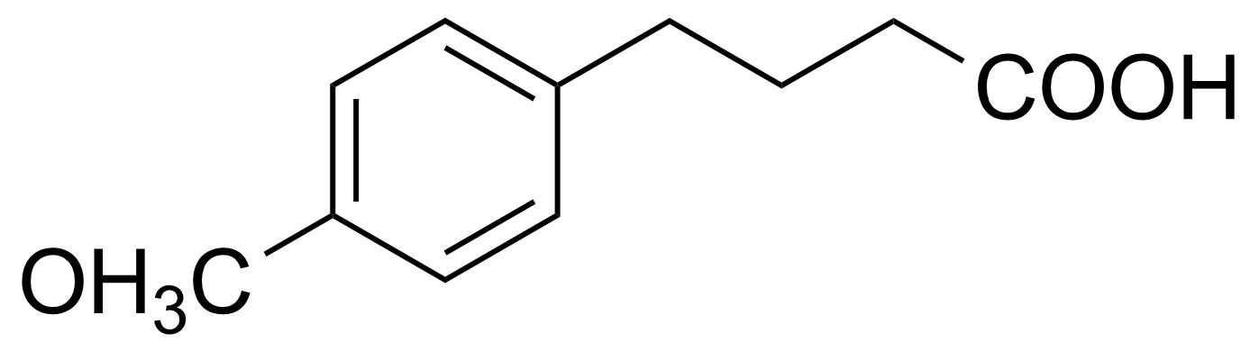 Structure of 4-(4-Methoxyphenyl)butyric acid
