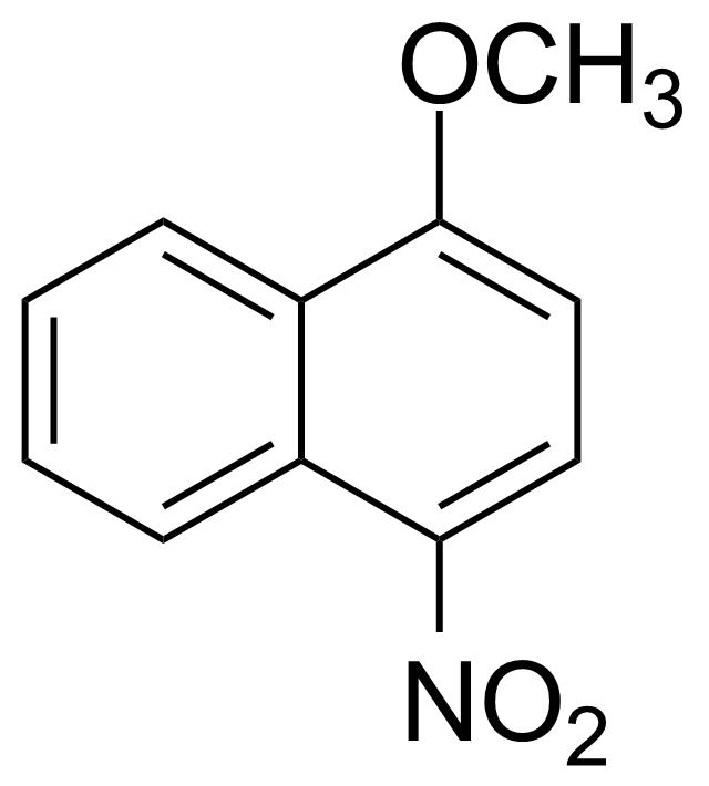 Structure of 1-Methoxy-4-nitronaphthalene
