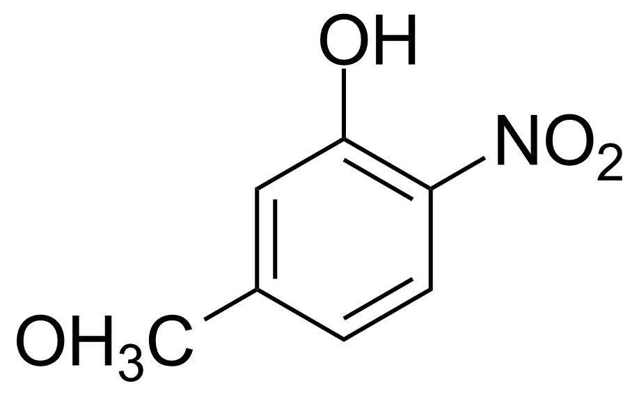 Structure of 5-Methoxy-2-nitrophenol