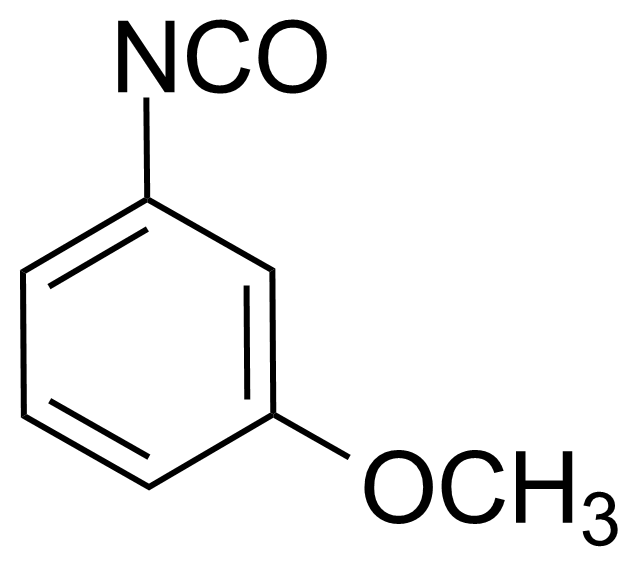Structure of 3-Methoxyphenyl isocyanate