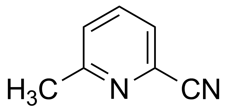Structure of 6-Methyl-2-pyridinecarbonitrile