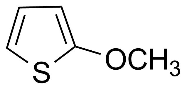 Structure of 2-Methoxythiophene