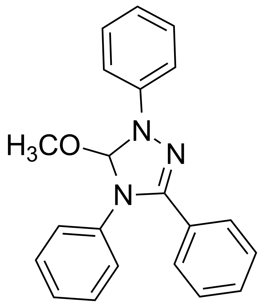 Structure of 5-Methoxy-1,3,4-triphenyl-4,5-dihydro-1H-1,2,4-triazoline