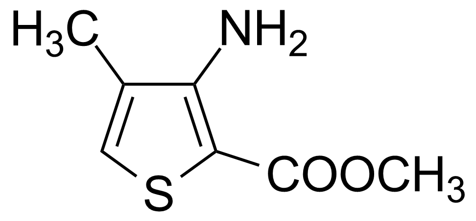 Structure of Methyl 3-amino-4-methylthiophene-2-carboxylate