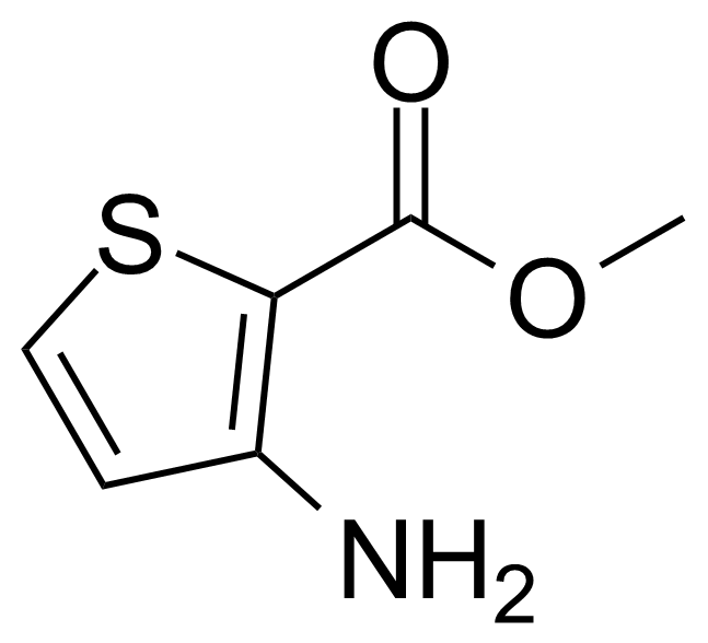 Structure of Methyl 3-amino-2-thiophenecarboxylate