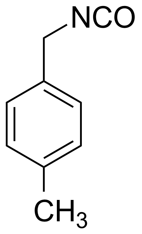 Structure of 4-Methylbenzyl isocyanate