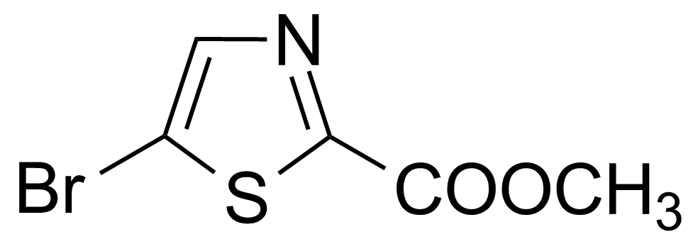 Structure of Methyl 2-bromothiazole-5-carboxylate