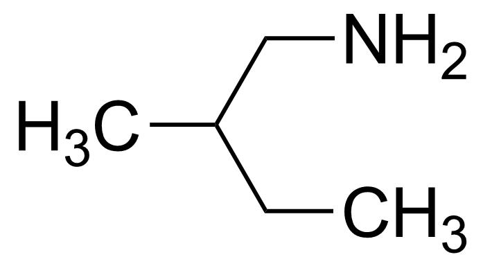Structure of 2-Methylbutylamine