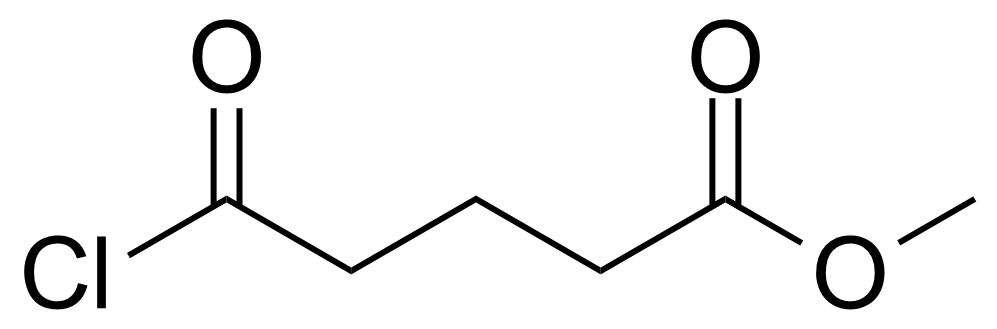 Structure of Methyl 4-(chloroformyl)butyrate