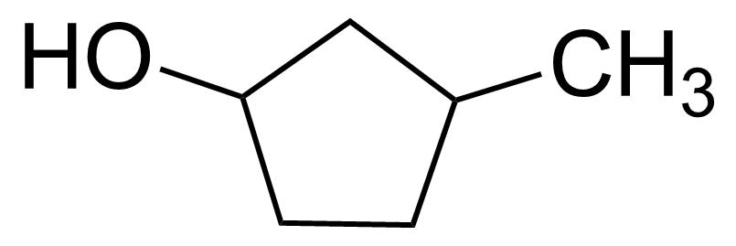 Structure of 3-Methyl-1-cyclopentanol