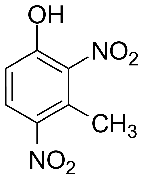 Structure of 3-Methyl-2,4-dinitrophenol