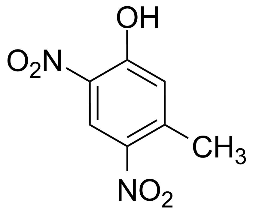 Structure of 3-Methyl-4,6-dinitrophenol
