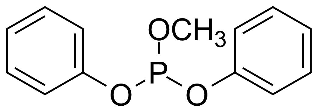 Structure of Methyl diphenylphosphite