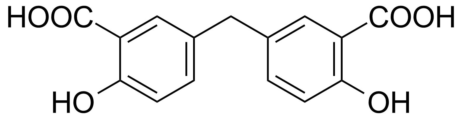 Structure of 5,5'-Methylenedisalicylic acid