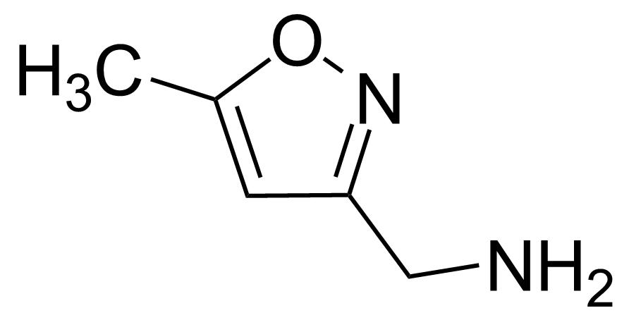 Structure of (5-Methyl-3-isoxazolyl)methylamine