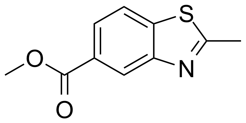 Structure of Methyl 2-methyl-1,3-benzothiazole-5-carboxylate