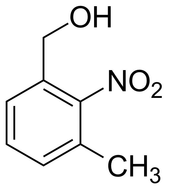 Structure of 3-Methyl-2-nitrobenzyl alcohol