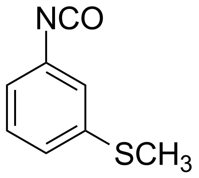 Structure of 3-(Methylthio)phenyl isocyanate