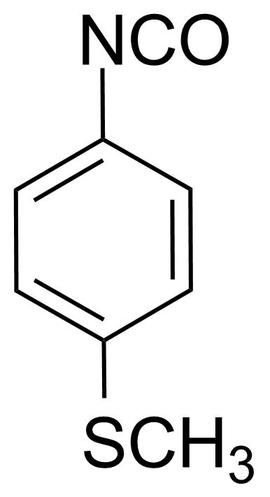 Structure of 4-(Methylthio)phenyl isocyanate