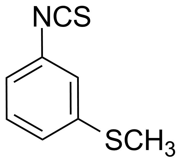 Structure of 3-(Methylthio)phenyl isothiocyanate