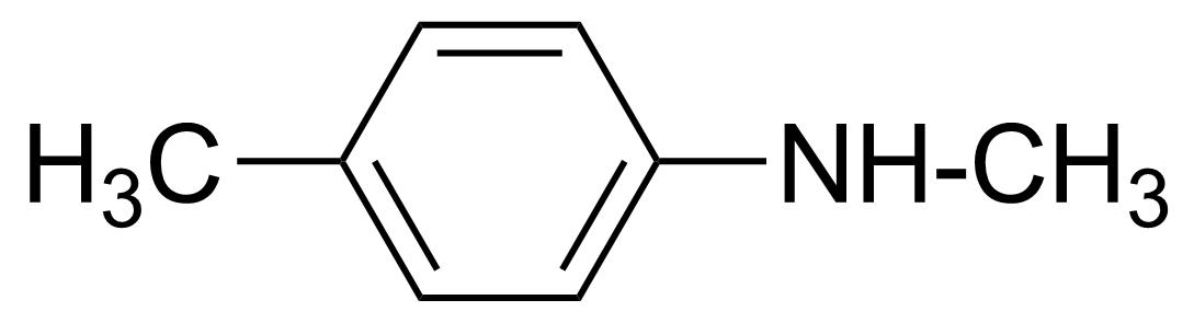 Structure of N-Methyl-p-toluidine