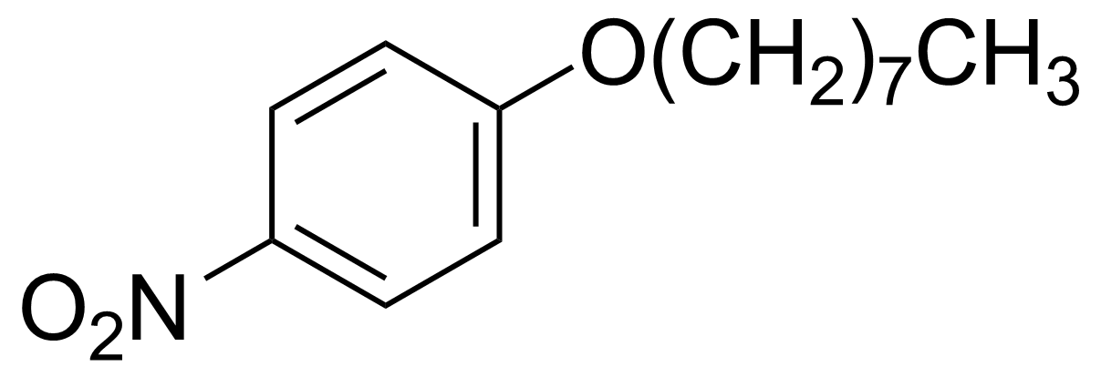 Structure of 4-Nitrophenyl octyl ether